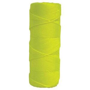 Kraft Tool Company 250 ft. Tube Braided Nylon Line in Fluorescent Yellow KBC335T