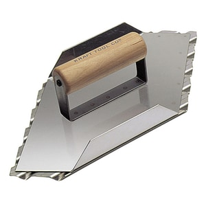 Kraft Tool Company 13-1/2 x 5-1/2 in. Safety Ramp Walking Left Groover with 1 in. Spacing KCC086