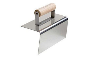 Kraft Tool Company 8 x 4 in. Outside Step Tool Hand Edger (Less Batter) KCF181PF