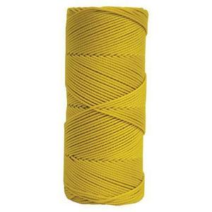Kraft Tool Company 250 ft. Tube Braided Nylon Line in Yellow KBC338T