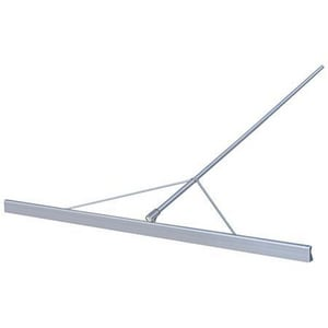 Kraft Tool Company 4-1/2 in. x 10 ft. x 2-1/2 in. Magnesium Keyhole Paver Straightedge with Bracket, Braces, and Handle KCC721