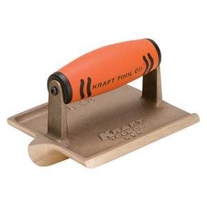 Kraft Tool Company 6 x 4-1/2 in. Big Bit Bronze Groover with ProForm Soft Grip Handle KCF304PF