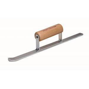 Kraft Tool Company 14 x 3/4 in. Half Round Sled Runner with Wood Handle KBL217