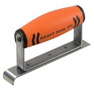 Kraft Tool Company 6 x 1 in. Stainless Steel Narrow Hand Edger with 3/8 in. Radius KCF113PF