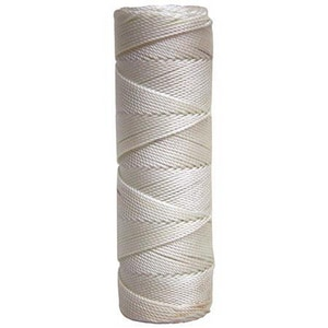 Kraft Tool Company 350 ft. Tube Twisted Nylon Line in White KBC34