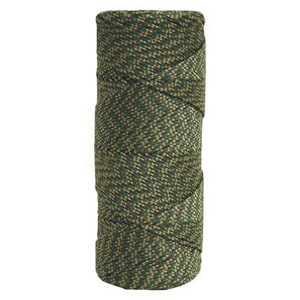 Kraft Tool Company 1000 ft. Tube Braided Nylon Line in Green, Gold and Brown KBC490
