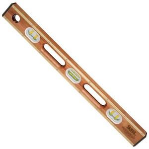 Kraft Tool Company Professional 24 in. Mahogany Wood Level KSL22BY24