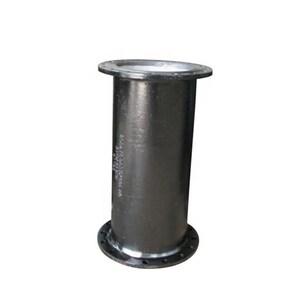 Custom Fab 3-1/2 ft. x 6 in. Bituminous Tar Coated Flanged Ductile Iron Pipe FFPUM6