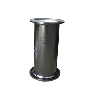 Custom Fab 1-1/2 ft. Bituminous Tar Coated Flanged Ductile Iron Pipe FFP12