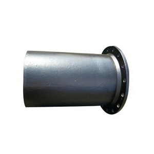 Custom Fab 1-3/5 in. x 18 ft. Flanged x Plain End Cement Lined Bituminous Tar Ductile Iron Spool FPP18