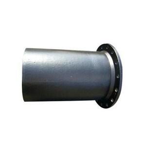 Custom Fab 4 in. x 14 ft. Flanged x Plain End P-401 Bituminous Tar Ductile Iron Spool FPPP4P14