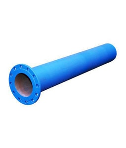 18 ft. x 10 in. Flanged Epoxy Lined Ductile Iron Pipe DFFPEL1018