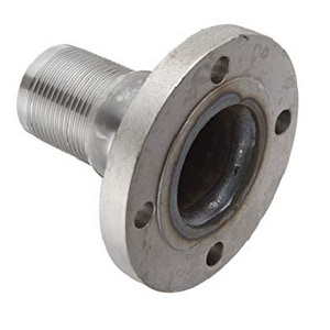 6 x 24 in. Flanged x MIP Steel Nipple with 1/2 SFMNDTAPU24