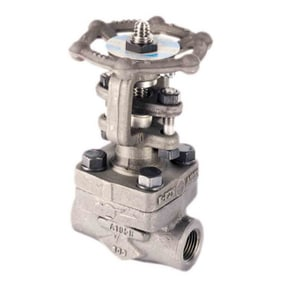 Spirax Sarco A3S 1-1/2 in. NPT Forged Steel Seal Stop Valve S1326490