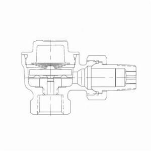 Spirax Sarco RTH-125 1/2 in. 353F 125 psig Steam Trap S70589