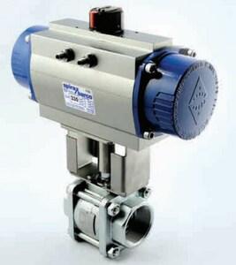 Spirax Sarco BVA300 Series 6-2/5 in. Pneumatic Aluminum Actuator S6232805