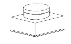 30X20X16 30GA CEIL BX W/Plaster Ground 4 HI SHMCB30302016PG