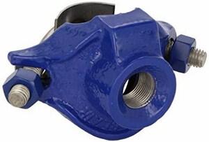 Smith Blair Inc 3 x 1-1/2 in. IP Iron Double Strap Saddle S31300035412000