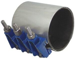 Smith Blair Inc 7-1/2 x 3 in. 2-Bolt Fiber Core Repair Clamp 3.49 - 4.29 in. OD S22700035007000