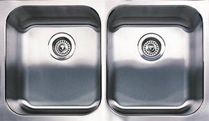 Blanco America Spex™ 2-Bowl Equal Kitchen Sink in Satin B440316