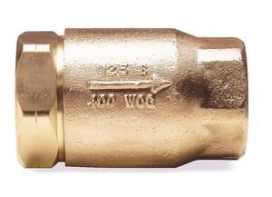 Apollo Conbraco 61-500 Series 1/2 in. Bronze FNPT Check Valve with 10 psi Opening Pressure A61503E10