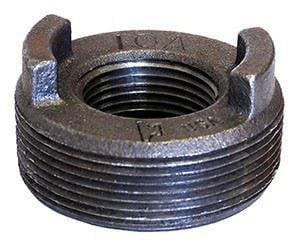 Figure 10 3 x 1-1/4 in. 150# Reducing Black Malleable Iron Flush Bushing BFBMH