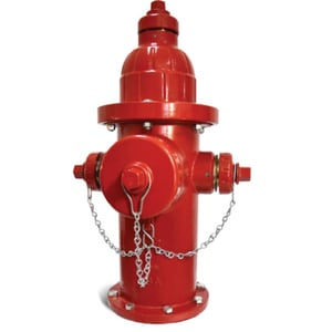 Kennedy Valve Mfg. Guardian K-81A Red 5 ft. 6 in. Mechanical Joint Assembled Fire Hydrant KK81A514LAOLTRED