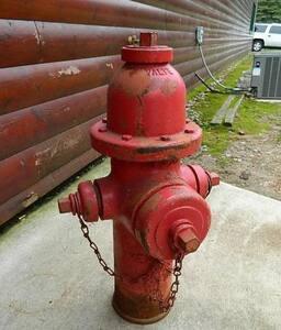 Kennedy Valve Mfg. Guardian K-81A 8 ft. Mechanical Joint Assembled Fire Hydrant KK81A514LAOLX