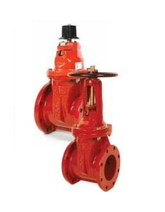 Kennedy Valve Mfg  Flanged Ductile Iron OS&Y Resilient Wedge