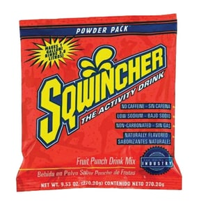 Sqwincher 23.83 oz. Fruit Punch Flavour Powder Concentrate Drink S016042FP at Pollardwater