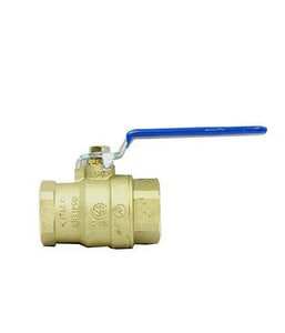 Brecco 1 in. Forged Brass Full Port FNPT Ball Valve B70020000100