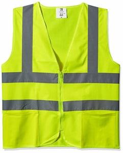 Radians L Size Safety Vest with Zipper ASV2ZGSL