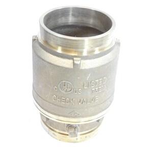 4 in. Brass FNPT x MNPT Check Valve B70022500360