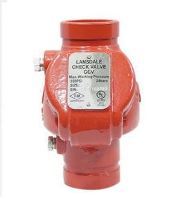 Ductile Iron Grooved Check Valve B700225005