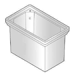 Armorcast Products 30 x 18 x 17 in. Meter Box (Less Mousehole) AP6001534X18