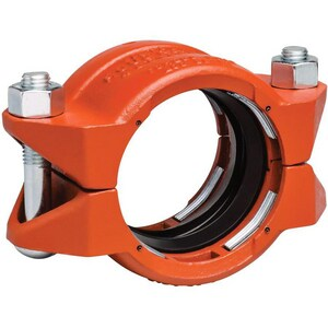 Style 99 Plain End Orange Enamel Carbon Steel Coupling VL0099PE0