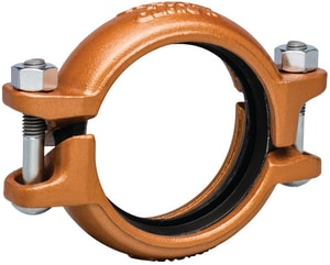 Victaulic FireLock™ Style 607 8 in. Grooved Rigid Coupling for Copper Tube VL080607PE0