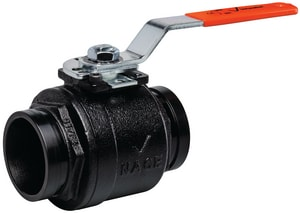 Victaulic Series 726 4 in. Ductile Iron Standard Port Grooved 800# Ball Valve VV040726P0A