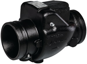 Victaulic FireLock™ Style 716 4 in. Ductile Iron Grooved Check Valve VV040716PE0