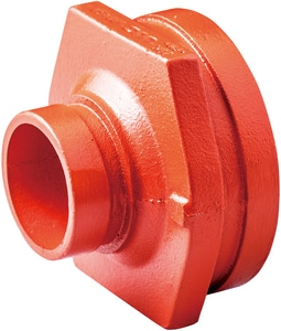 Victaulic FireLock™ Style 50 6 x 2-1/2 in. Grooved Painted Concentric Reducer VFE65050P0C