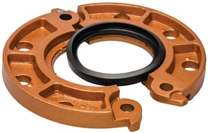 Victaulic FireLock™ Style 641 4 in. Grooved x Flanged Copper Adapter Gasket VL040641PP0