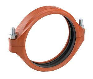 Victaulic AGS™ Style W07 14 in. Grooved x Plain End Carbon Steel and Ductile Iron Coupling VW0007PE1