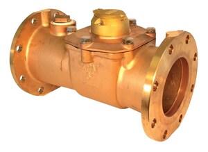 Zenner 6 in. Flanged Direct Read Turbine Meter - US Gallons ZPMTB06REGUS at Pollardwater