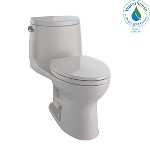 TOTO UltraMax® II 1.28 gpf Elongated One Piece Toilet in Sedona Beige TMS604114CEFG12