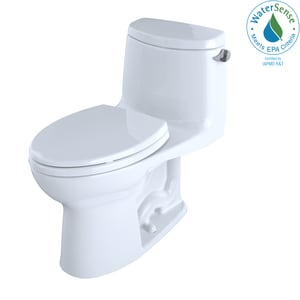Toto USA UltraMax® II 1.28 gpf Elongated One Piece Toilet in Cotton TMS604114CEFRG01
