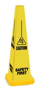 Accuform Signs 25 in. Safety Cone - Safety First APFC253 at Pollardwater