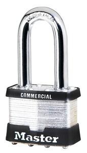 Master Lock 3 Series 1-9/16 x 2 in. Laminated Steel Padlock M3LH at Pollardwater