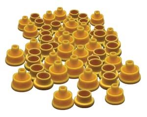 LMI LMI 1/4 in. Ferrule Kit 50-Piece for Roytronic Chemical Metering Pumps L505 at Pollardwater