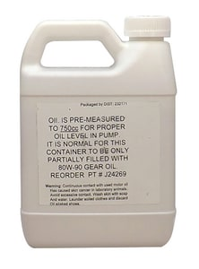Pulsafeeder 1 qt Oil for Pulsatron Chem-Tech 100, 150 and 200 Series Pumps PJ24269 at Pollardwater