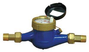 Pulsafeeder 3/4 in. 0.25 - 20 gpm 1 gpc NPT Plastic Contacting Water Meter PMTR104P at Pollardwater